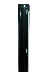 E-20203 Poste aluminio negro